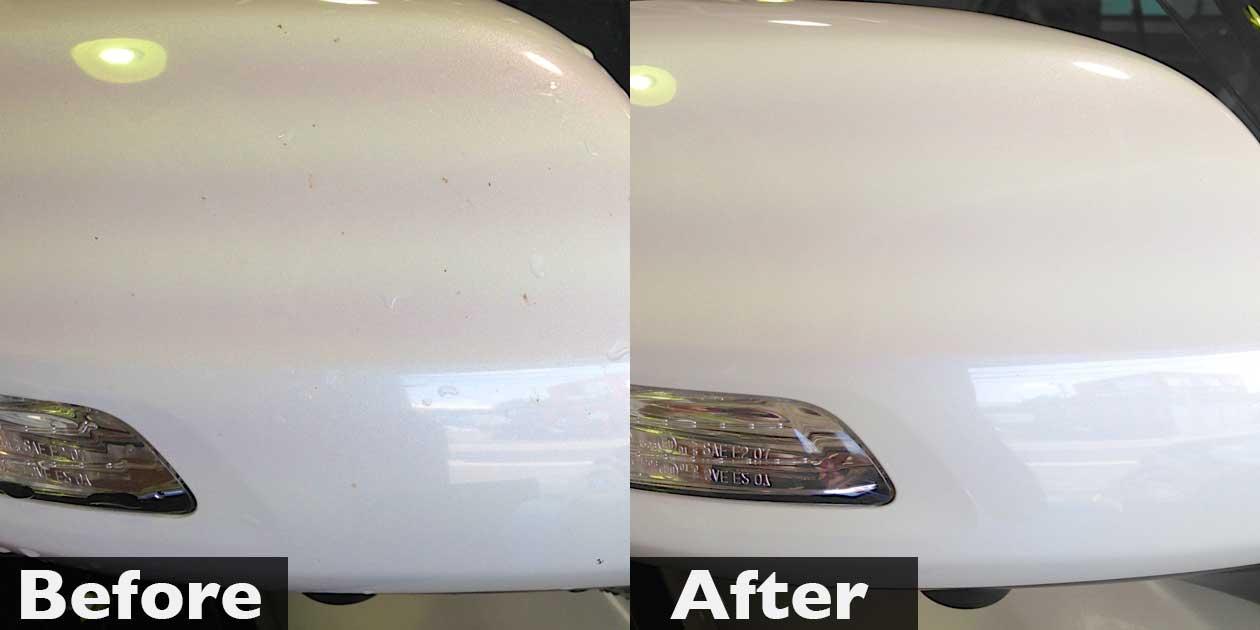 ガードコスメのメンテナンス洗車(ランドクルーザープラド)
