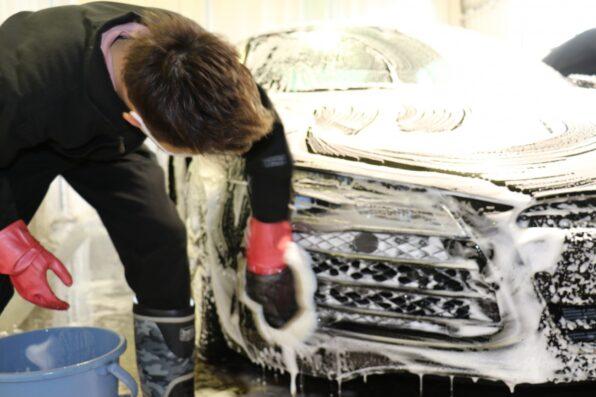 傷の付きにくい手洗い洗車