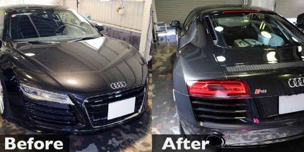 スタンダード手洗い洗車 Audi R8