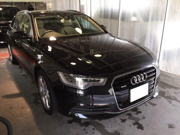 Audi A6 の入庫 USC施工前