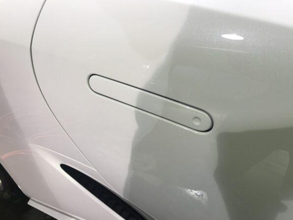 Lexus LC500 のドアの取っ手